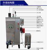 全自动蒸发量60kg燃油蒸汽锅炉蒸汽发生器
