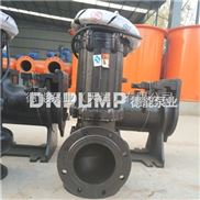 浮筒式排污泵小型污水泵安装