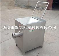 SKJR100XD火锅涮烤丸子原料绞肉机大型冻肉专用