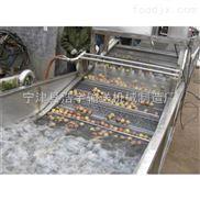 网带喷淋清洗机、果蔬清洗输送机