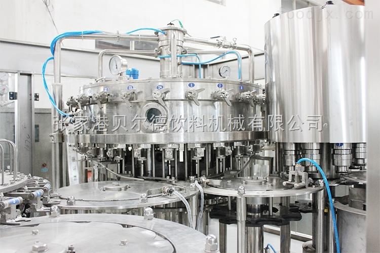 玻璃瓶果汁灌装生产线贝尔德
