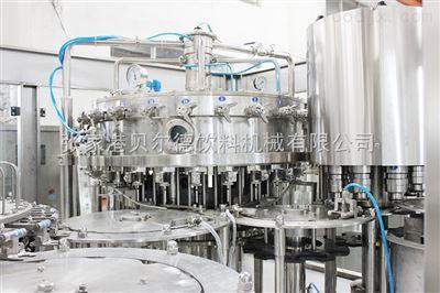 DGF-24-24-8含气易拉罐饮料灌装机设备