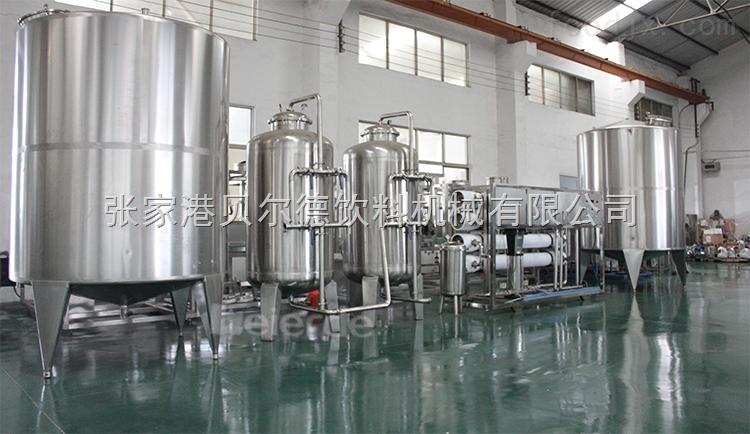 全自动反渗透设备纯净水水处理系统