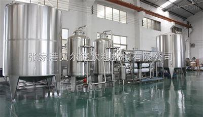 WTS-4全自动反渗透设备纯净水水处理系统