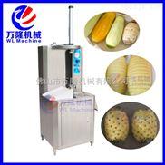 供应菠萝削皮机 不锈钢电动菠萝去皮设备