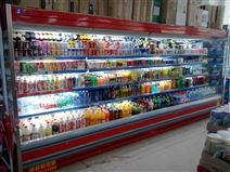 郑州专业定做超市果蔬酸奶风幕柜的厂家