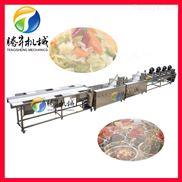 果蔬加工机械设备特点 净菜生产线