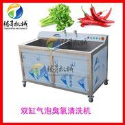 气泡式 果蔬清洗机  臭氧消毒洗菜机
