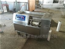 全自动切肉丁机 冻肉切丁机设备原理