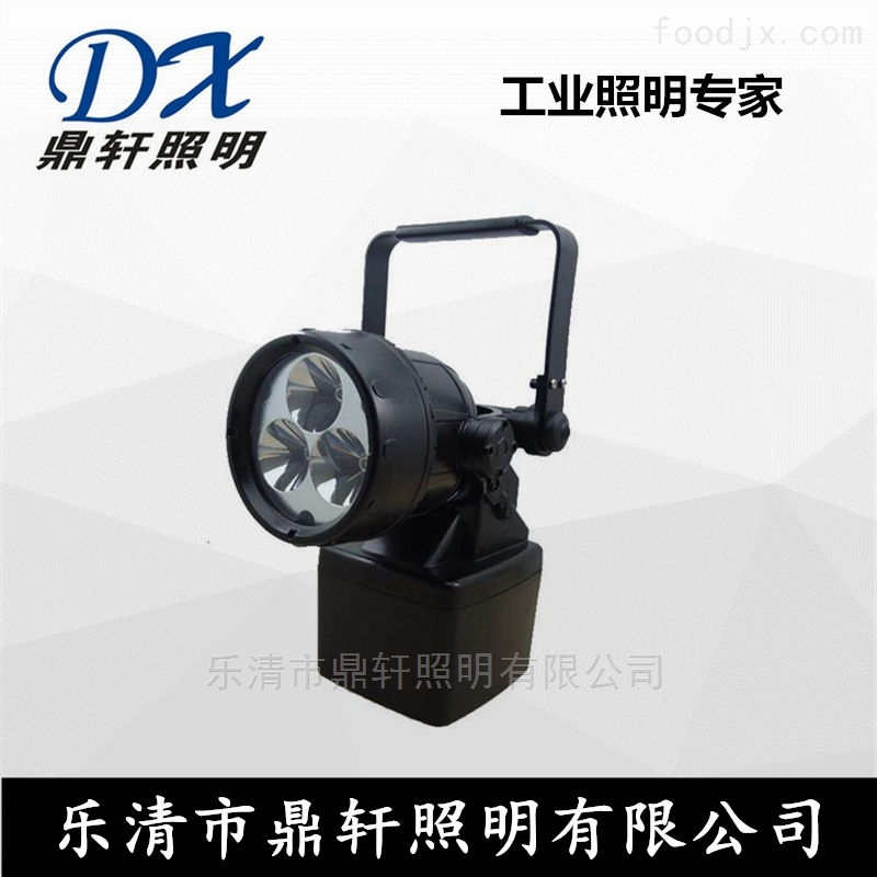 BAD309E便携式多功能磁力强光灯3*3W