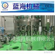 玻璃瓶含气饮料灌装生产线 鸡尾酒果酒三合一灌装机 啤酒灌装机