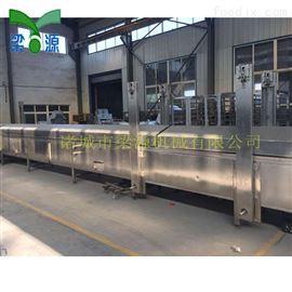 定做蒸汽加热蟹排蒸线 连续式鱼豆腐蒸汽生产线