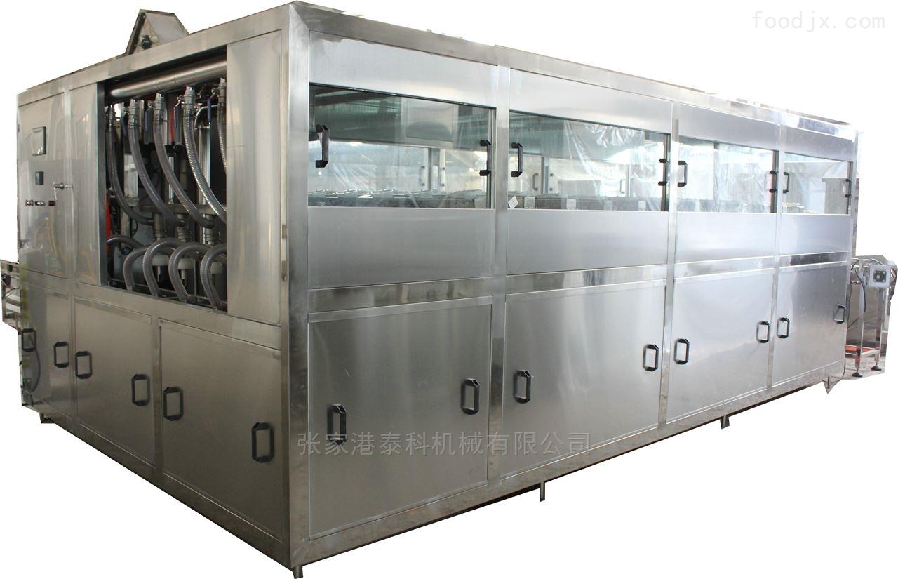 QGF不锈钢3加仑桶装水三合一灌装机