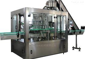 厂家直销全自动玻璃瓶皇冠盖三合一灌装机