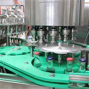 CGF32-32-10厂家供应蓝莓汁玻璃瓶三旋盖三合一灌装机