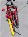 大蒜专用收获机 手扶车带大蒜收割机