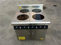 电磁煲仔炉型号,四头平头炉,煲仔饭机 商用