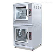 直销双层旋转电加热烤鸡炉