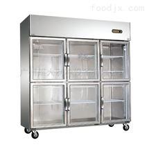 黄石—厂家生产六门厨房冷柜