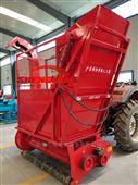 拖拉机带青储回收机 秸秆青贮收获机