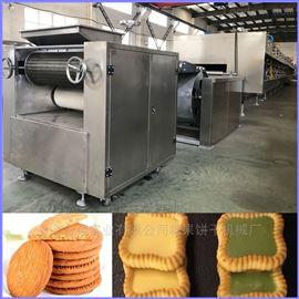 HQ-650全自动酥性饼干生产线 巧克力饼干机