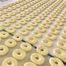 全自动韧性酥心夹心饼干生产线