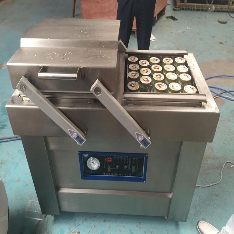 600/2s维C果糖下凹式真空封口包装机