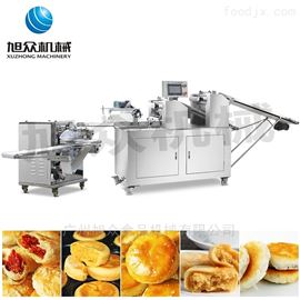 XZ-15全自动二道擀面酥饼机老婆饼绿豆饼机