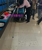 链片式自动餐盘输送机,厨房收碗筷传送带