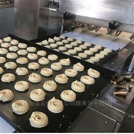 上海合强多功能蛋糕曲奇机 休闲糕点成型机