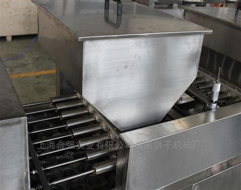 喷油蛋糕成型机 扇贝蛋糕机 蛋黄派生产线