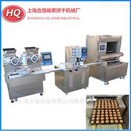 HQ-YB200全自动月饼生产设备 包馅生产线 打饼三件套