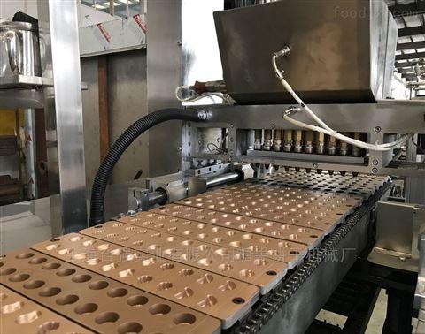 双色软糖浇注生产线设备 新款糖果机械