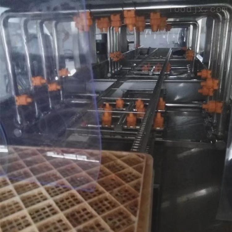 食品筐清洗机-食品厂塑料筐去油污设备价格