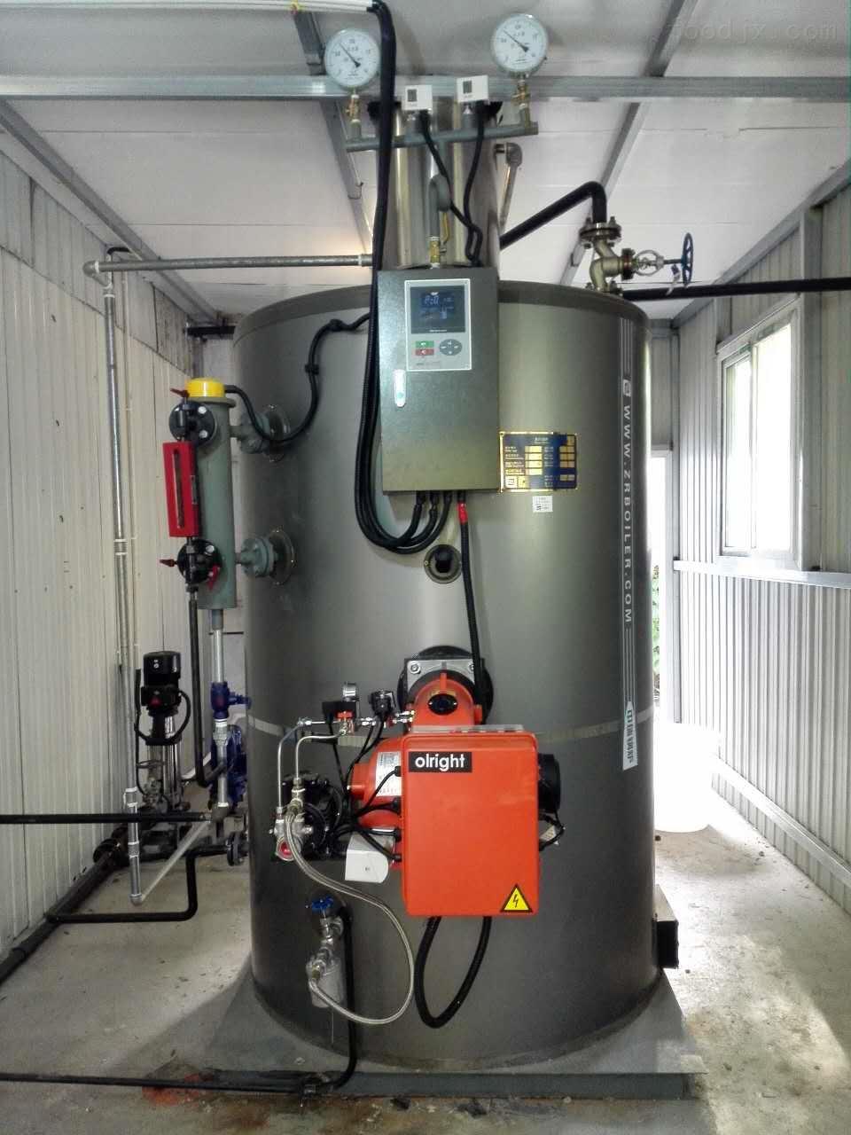 立式燃气蒸汽锅炉