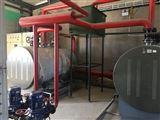 720KW不锈钢卧式常压电热水工业锅炉