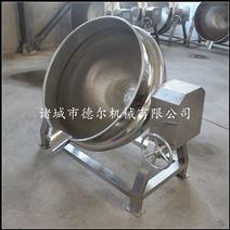厂家直销阿胶专用可倾斜夹层锅 阿胶蒸煮锅