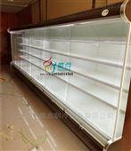 超市蔬果区展示柜,蔬菜立式风冷保鲜柜
