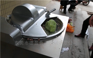 DY-300白菜包菜切碎机蔬菜叶菜切陷机德盈机械