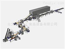 北京众力精机U-1608型烘焙全自动起酥生产线