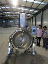 DK-400L迪凯厨房设备蔬菜清洗、炒制设备加工流水线