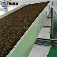 茶叶渣烘干机  连续式茶叶烘干设备