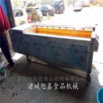 海产品加工设备--带鱼去鳞清洗机