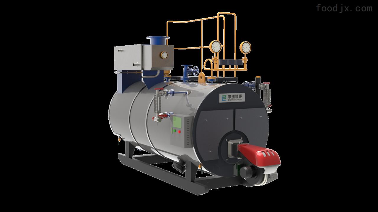 WNS1-1.0-YQ卧式冷凝蒸汽锅炉