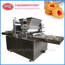 三料斗曲奇饼干成型机 双色饼干果酱机