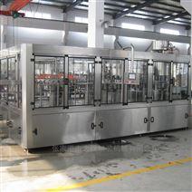 含氣(qi)碳酸飲料(liao)生產線汽水汽酒三合一(yi)灌裝機