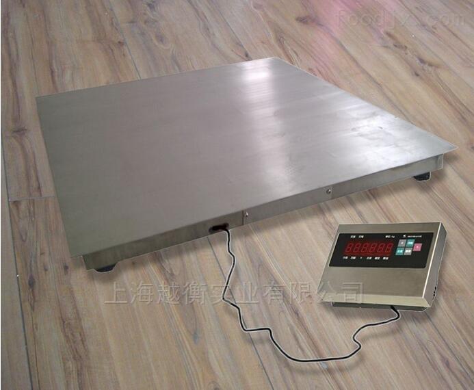 不锈钢防水型电子地磅、小地磅秤型号