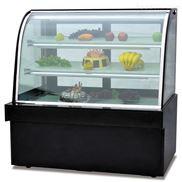富祺1米2长豪华落地式单圆弧蛋糕食品展示柜