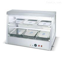 不锈钢玻璃双层陈列保温柜