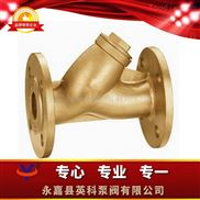 Y型-法蘭銅過濾器